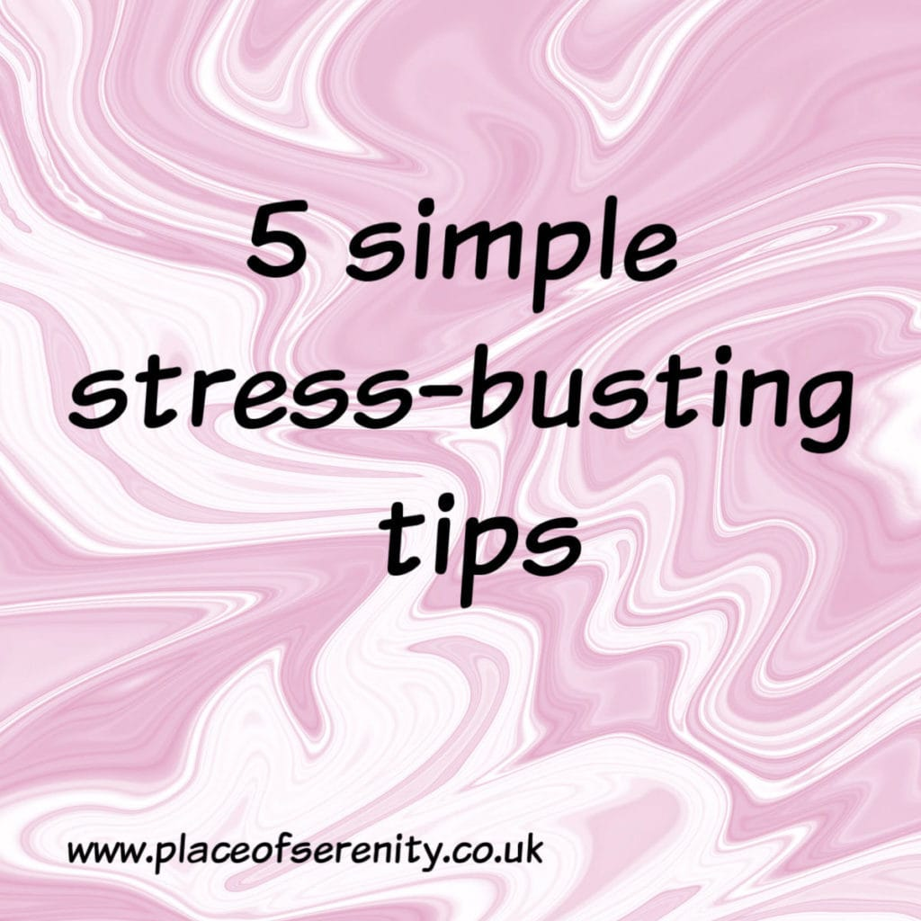Place of Serenity | stress-busting tips