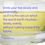 Mindful Tea Drinking