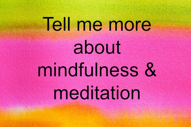 Mindfulness and meditation courses