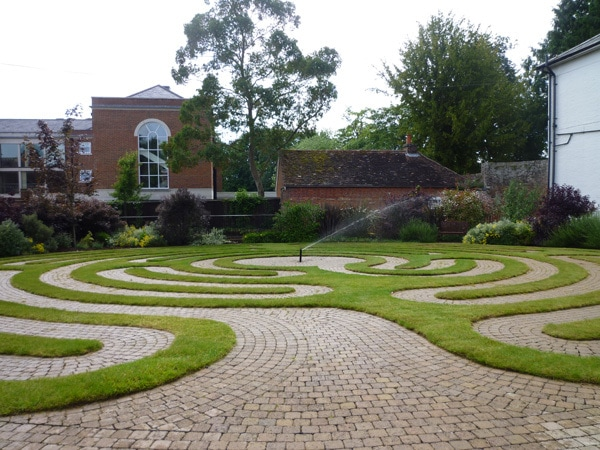 Place of Serenity | Labyrinth at Wisdom Centre, Romsey