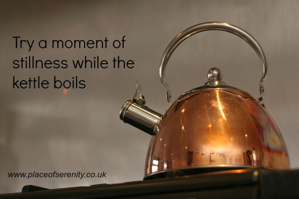 Place of Serenity | A moment of stillness as the kettle boils