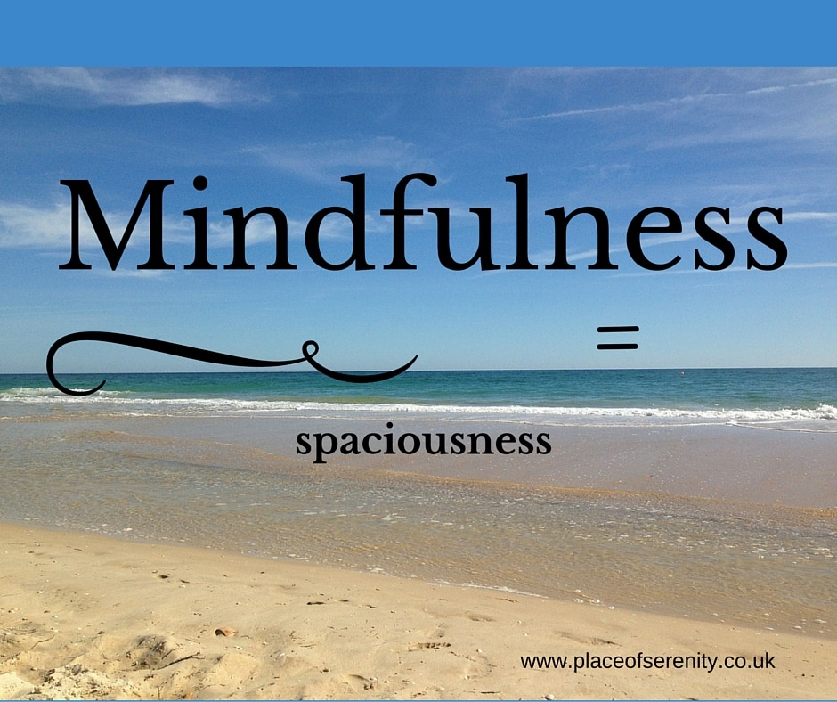 Place of Serenity | Become more mindful