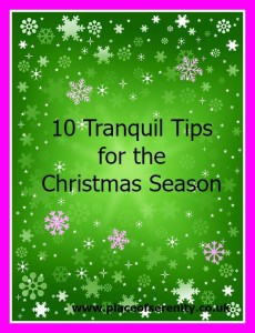 10 Tranquil Tips for a Mindful Christmas