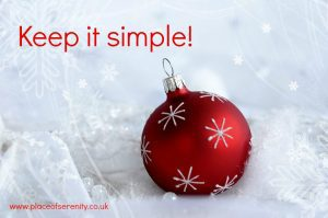 Tips to reduce festive frazzle