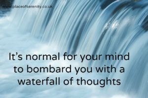 How mindfulness helps when you are bombarded by thoughts