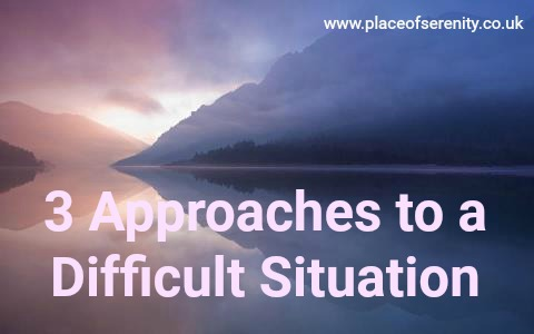 Place of Serenity | Difficult situation