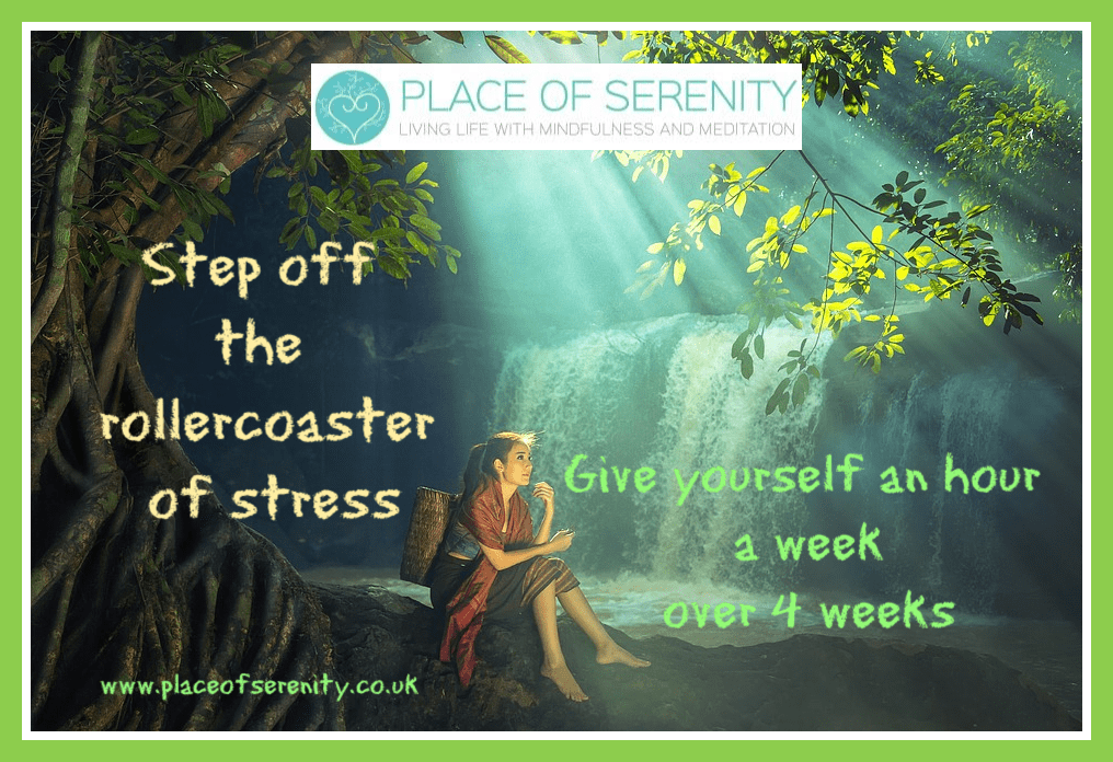 Place of Serenity | Be kind to yourself manage stress