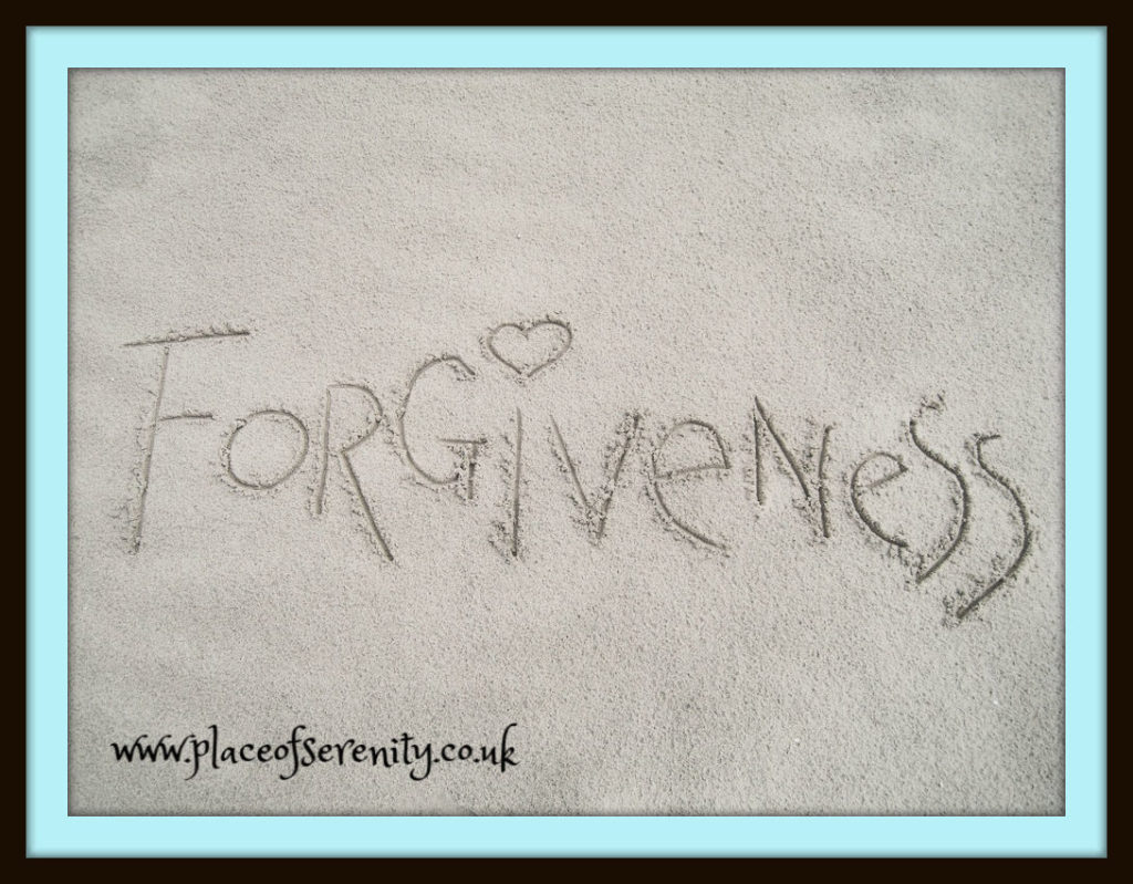 Place of Serenity | forgiveness