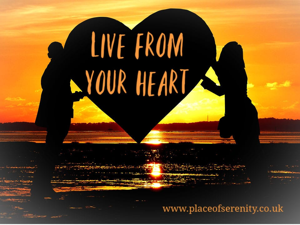 Place of Serenity | Live from your heart