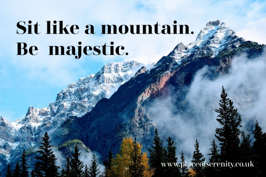 Place of Serenity | Majestic mountain