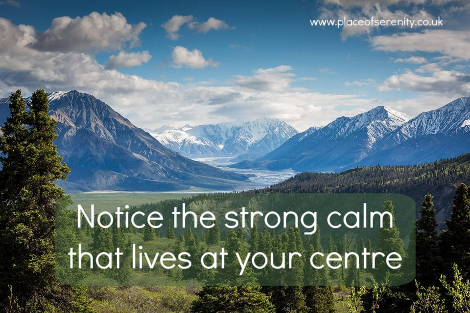 Place of Serenity | strong calm