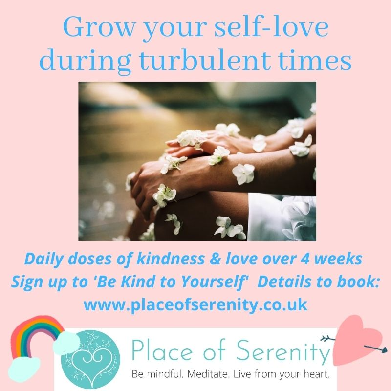 Place of Serenity | Be kind to yourself course
