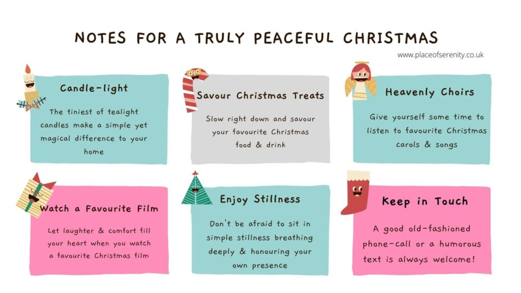 Place of Serenity | Peaceful Christmas Notes